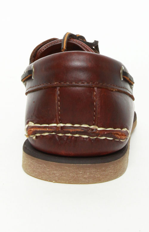 2-Eye Classic Boat Shoes - Rootbeer Smooth 4