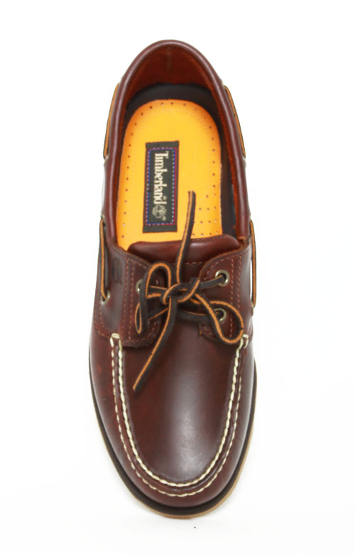2-Eye Classic Boat Shoes - Rootbeer Smooth 3