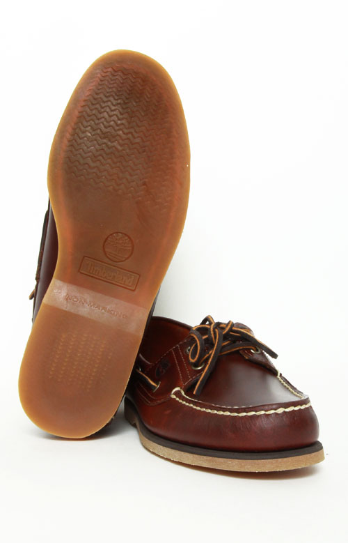 2-Eye Classic Boat Shoes - Rootbeer Smooth 2