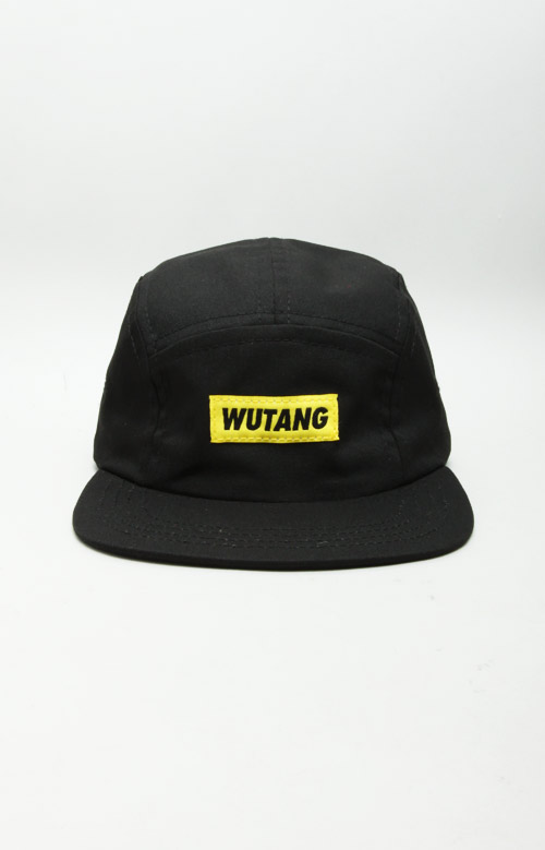 f58acd8bf2aba Wu-Tang 5 Panel Hat - Black
