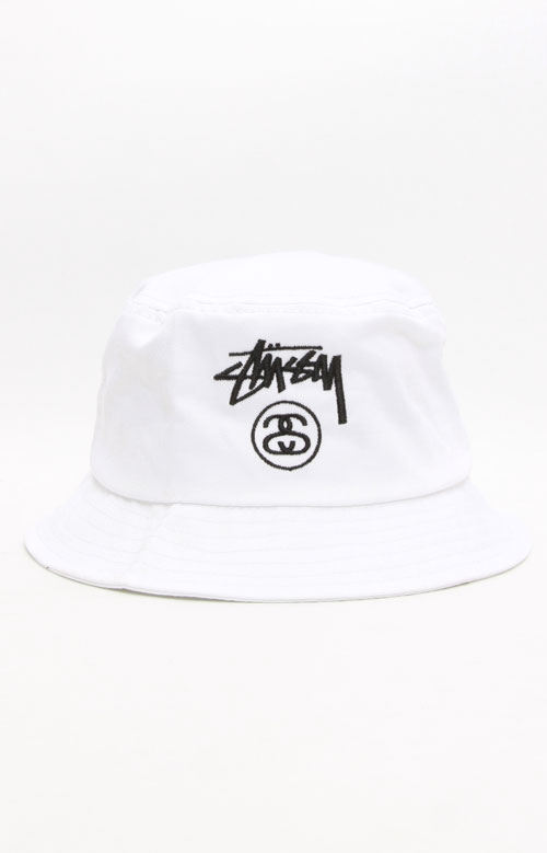 90cfd03f37bd4 Stock Lock Bucket Hat - White Black