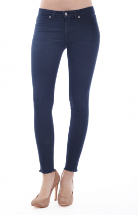 Cheap Monday Womens Clothing, Mid Spray Jeans - Dawning Blue