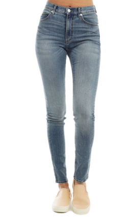 Cheap Monday Womens Clothing, Second Skin Jeans - Wasteland