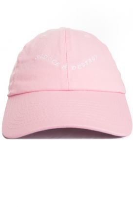 Dimepiece Clothing, Seduce And Destroy Dad Hat - Pink
