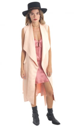 MinkPink Clothing, New In Town Waterfall Vest