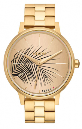Nixon Clothing, Kensington Women's Watch - All Gold/Palm
