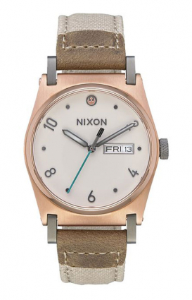 Nixon x Star Wars Clothing, Jane Leather Watch - Rey Light Gold