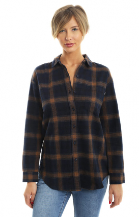 Obey Womens Clothing, Montague Button-Up Shirt