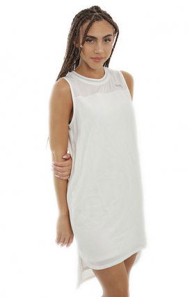 Stussy Womens Clothing, Volley Jersey Dress - White
