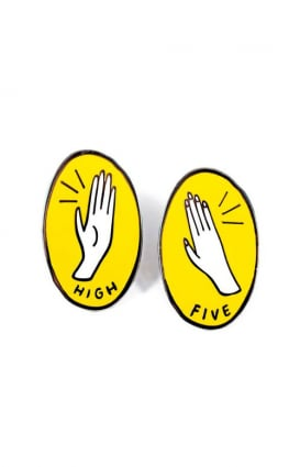 Valley Cruise Clothing, High Five Pin