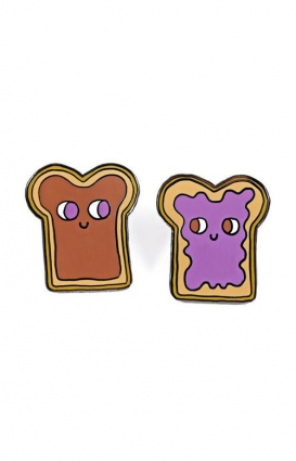 Valley Cruise Clothing, Peanut Butter & Jelly Pin