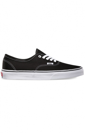 Vans Womens Clothing, Authentic Shoe - Black/White