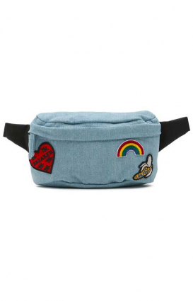 Vans Womens Clothing, Burma Fanny Pack - 70's Blue
