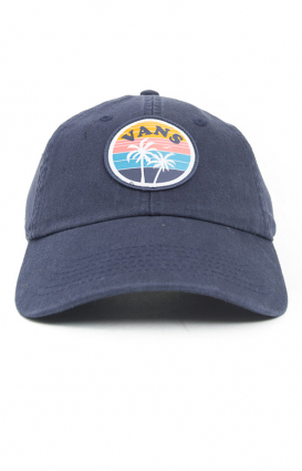 Vans Womens Clothing, Court Side Dad Hat - Crown Blue