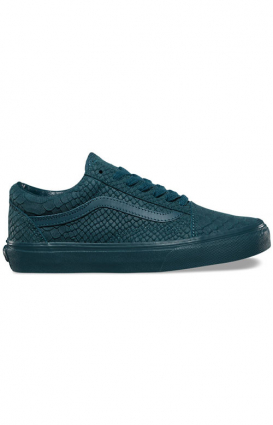 Vans Womens Clothing, Mono Python Old Skool DX Shoe - Atlantic Deep
