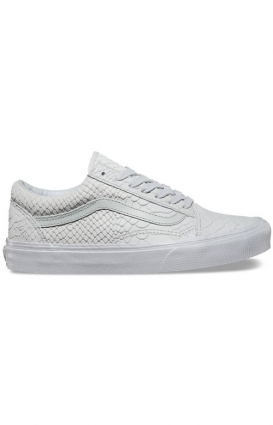 Vans Womens Clothing, Mono Python Old Skool DX Shoe - Dawn Blue