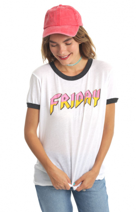 Wildfox Clothing, Heavy Metal Friday Top