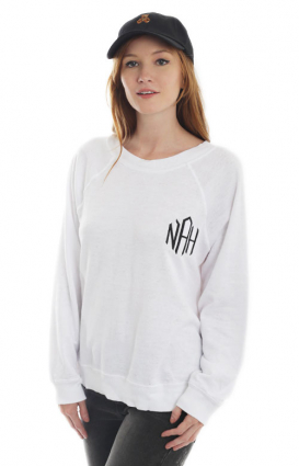 Wildfox Clothing, Monogram Sweater