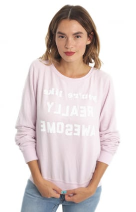 Wildfox Clothing, Really Awesome Crewneck