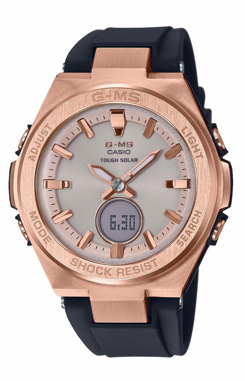 MSGS200G-1A Watch - Black/Rose Gold