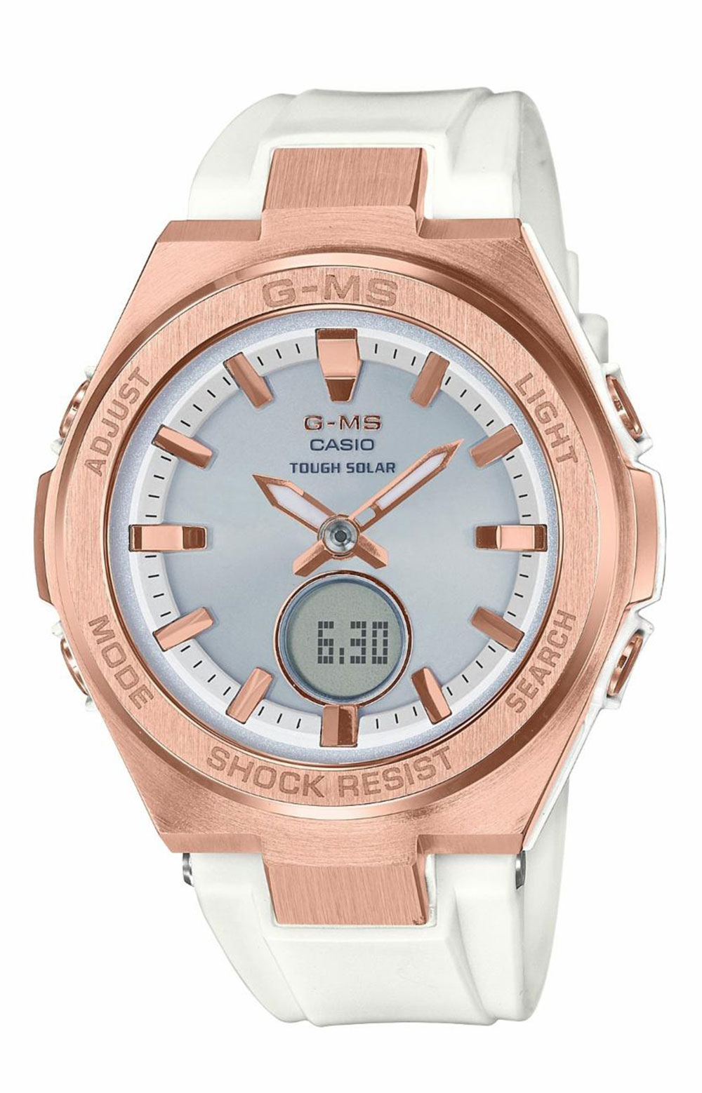 MSGS200G-7A Watch - White/Rose Gold