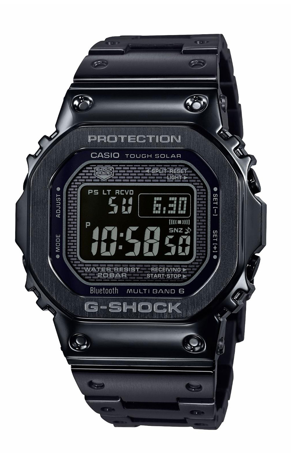 G-Shock, GMWB5000GD-1 Watch - Black