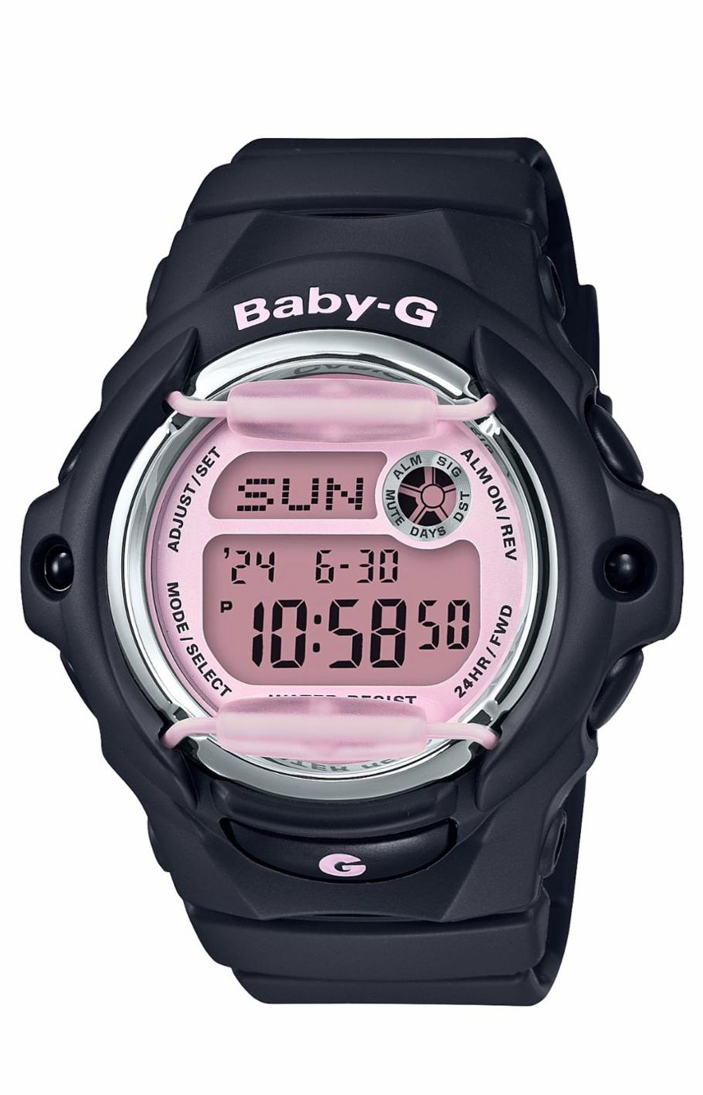 Baby-G BG169M-1 Watch - Black/Pink