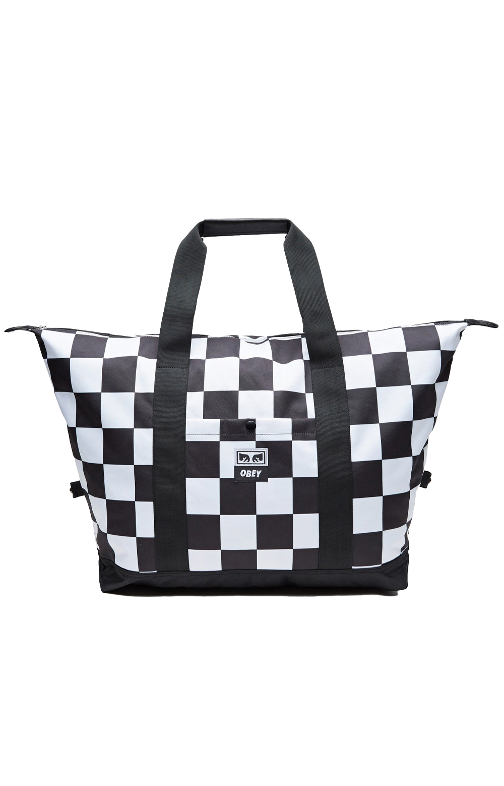OBEY, Drop Out Weekender Duffle Bag - Checker