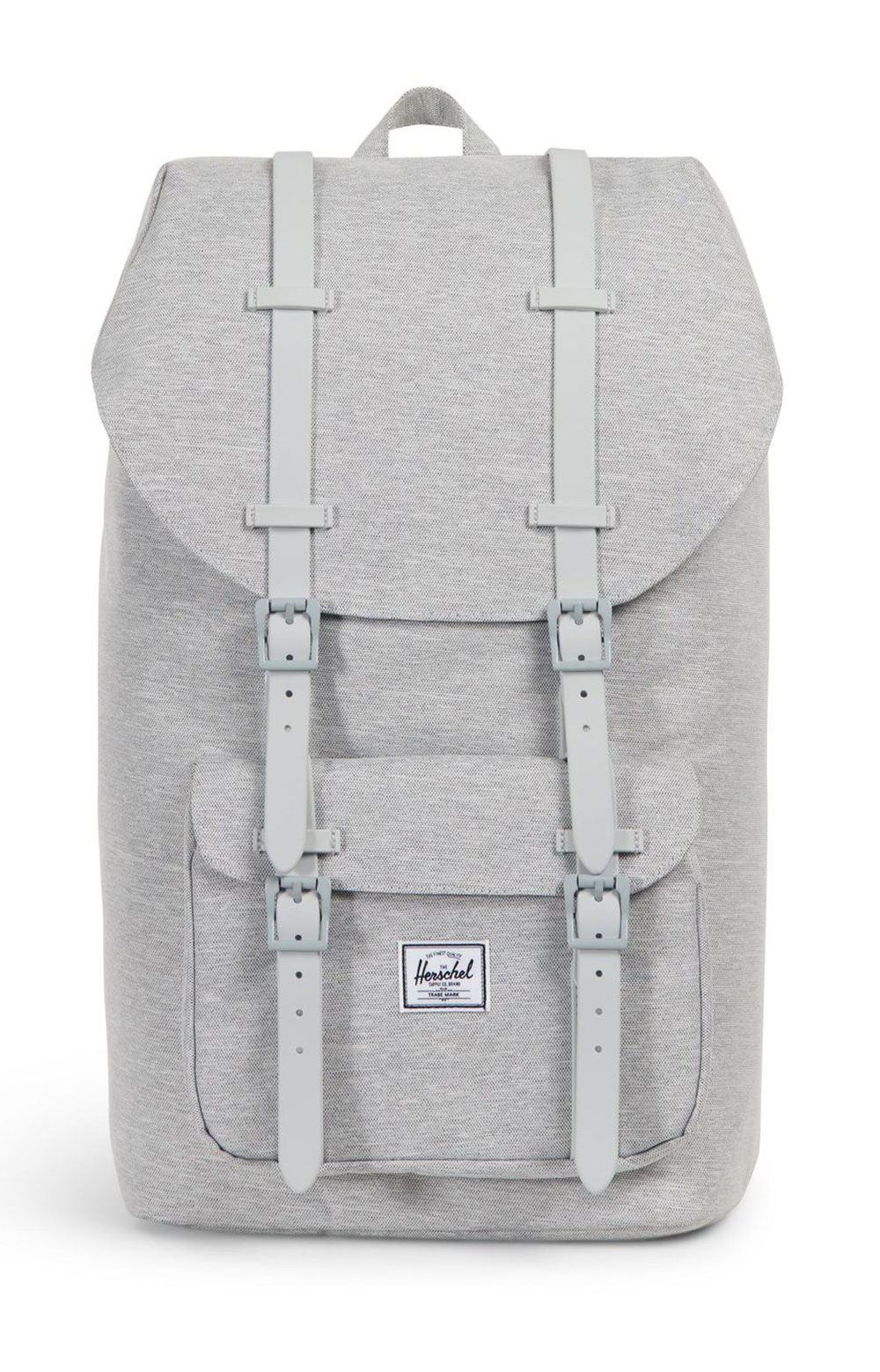 Little America Backpack - Light Grey X/Grey Rubber