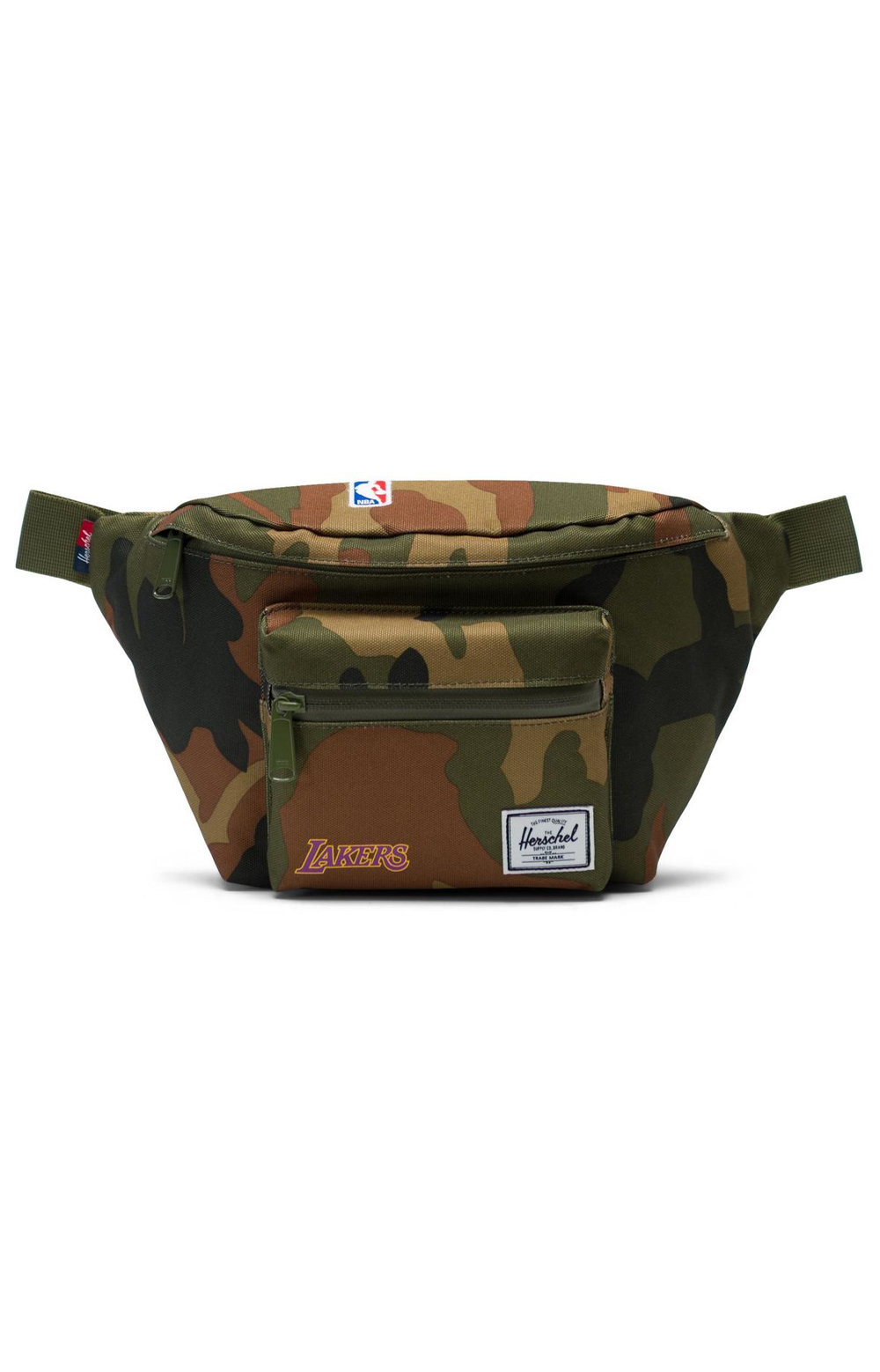 Seventeen Lakers Fanny Pack - Woodland Camo