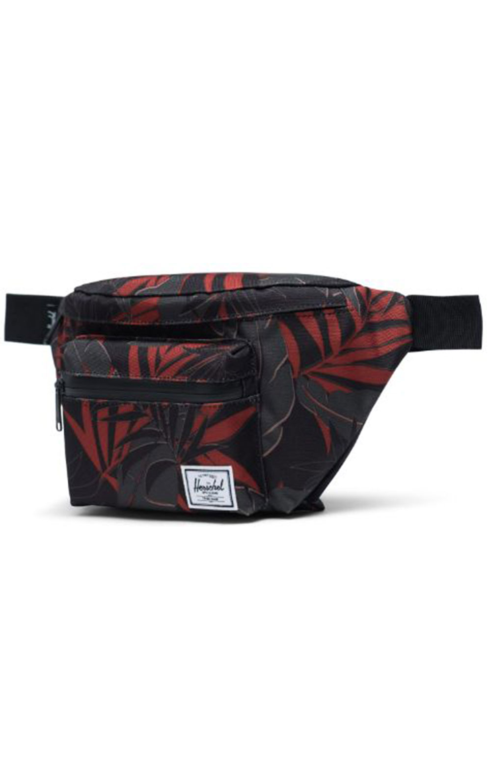 Seventeen Fanny Pack - Dark Olive Palm  2