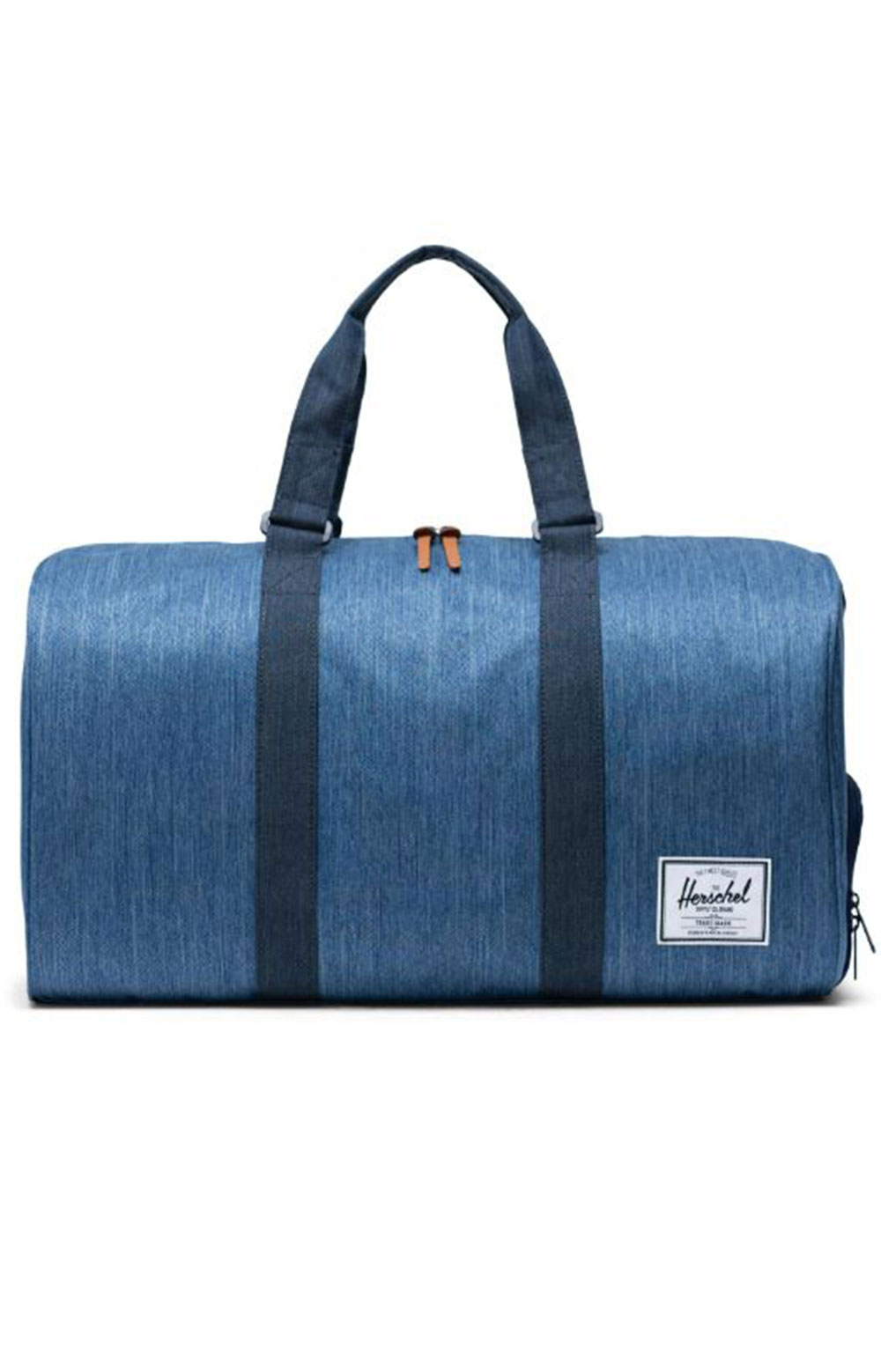 Novel Duffle Bag - Faded Denim/Indigo Denim