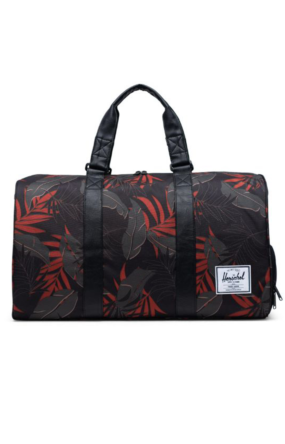 Novel Duffle Bag - Dark Olive Palm