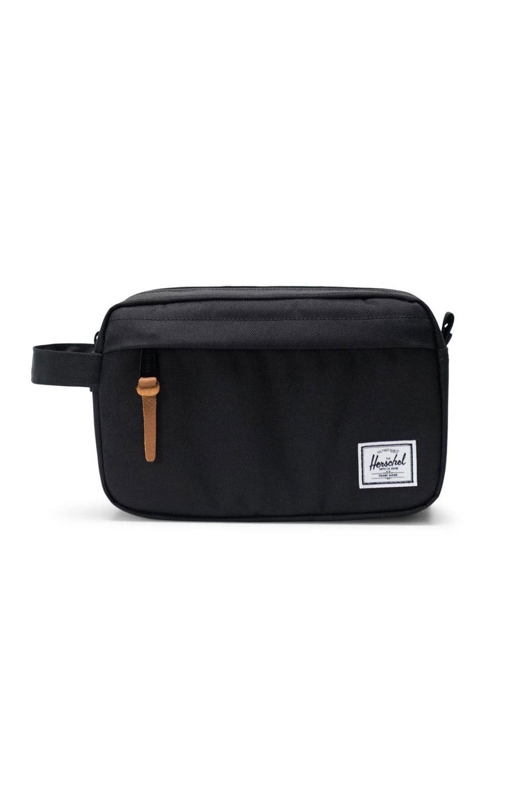 Chapter Travel Kit - Black/Brown Leather Pull