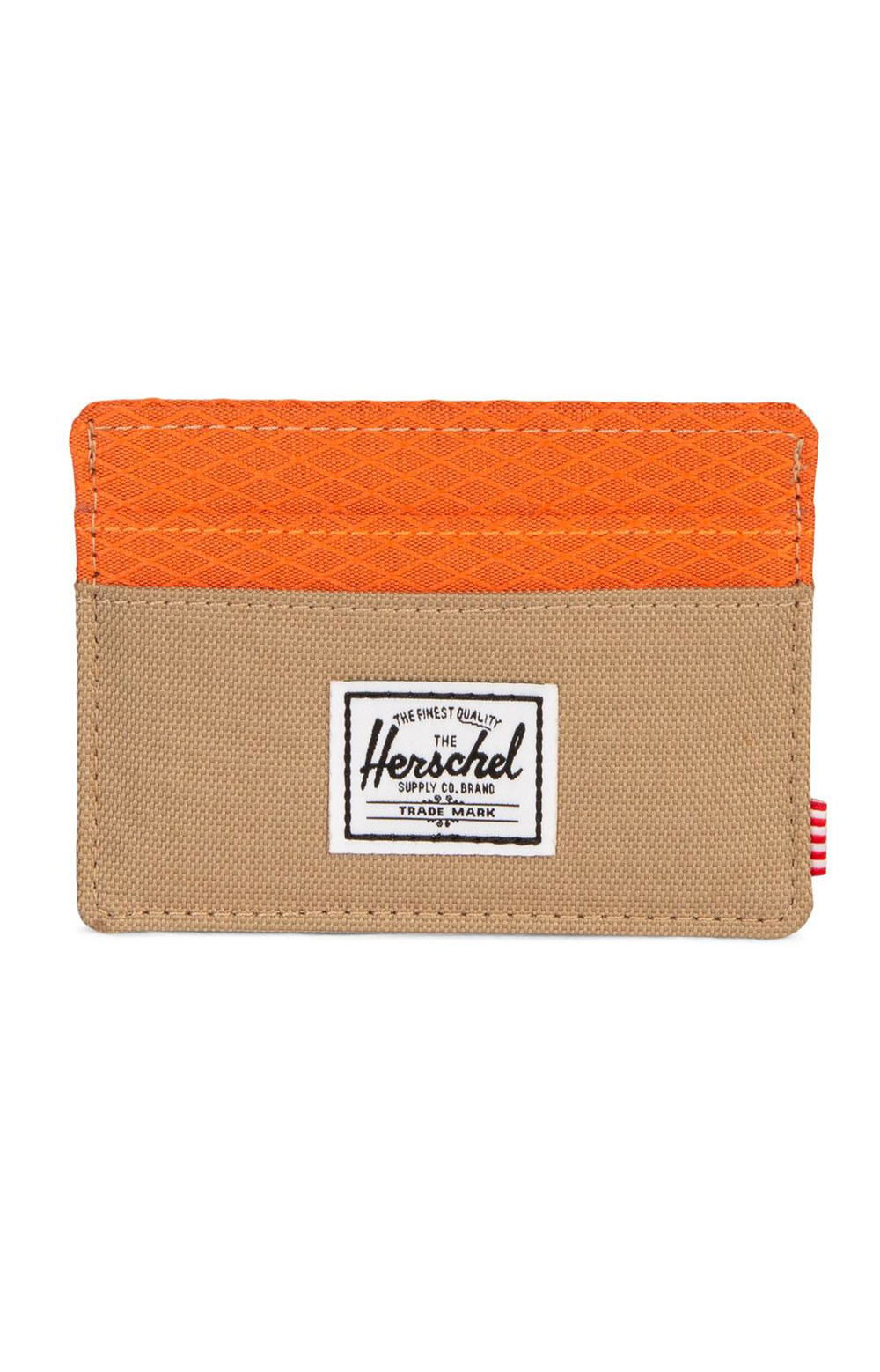 Charlie Wallet - Kelp/Orange