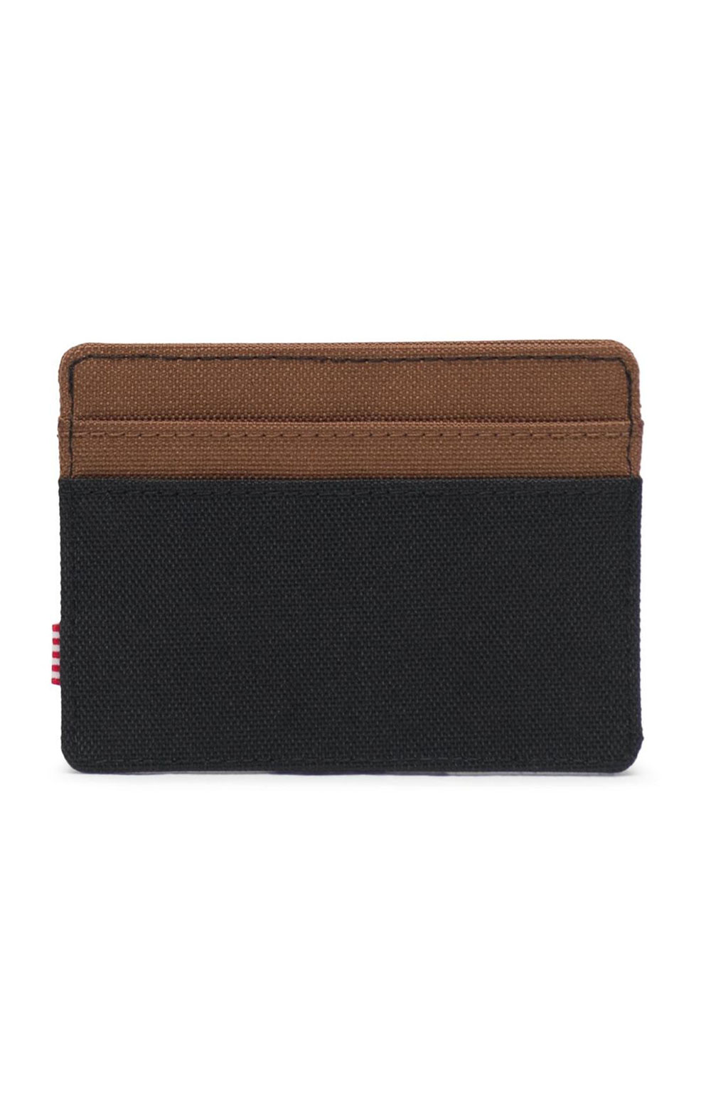 Charlie Wallet - Black/Saddle 3