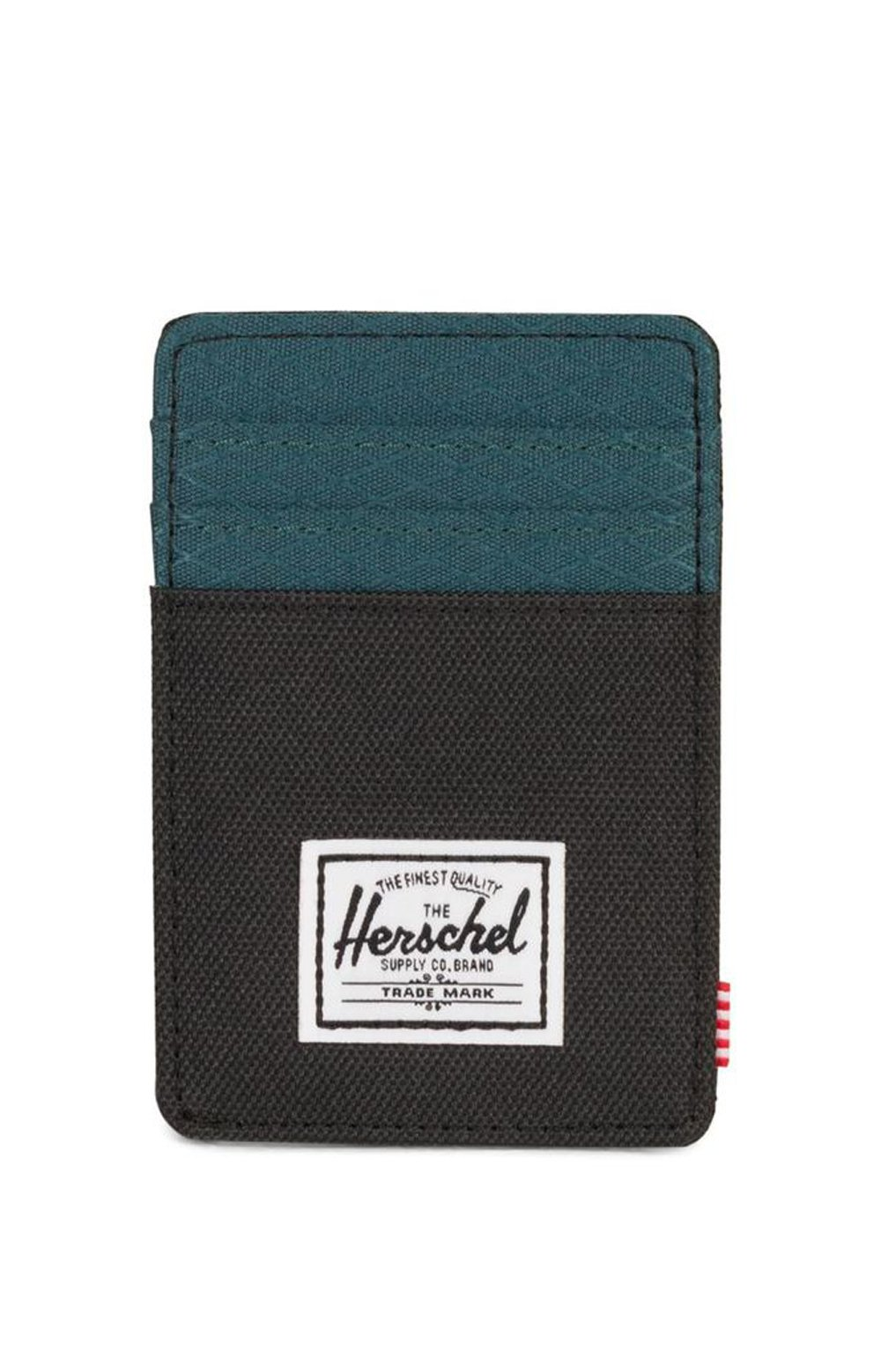 Raven Wallet - Black/Teal