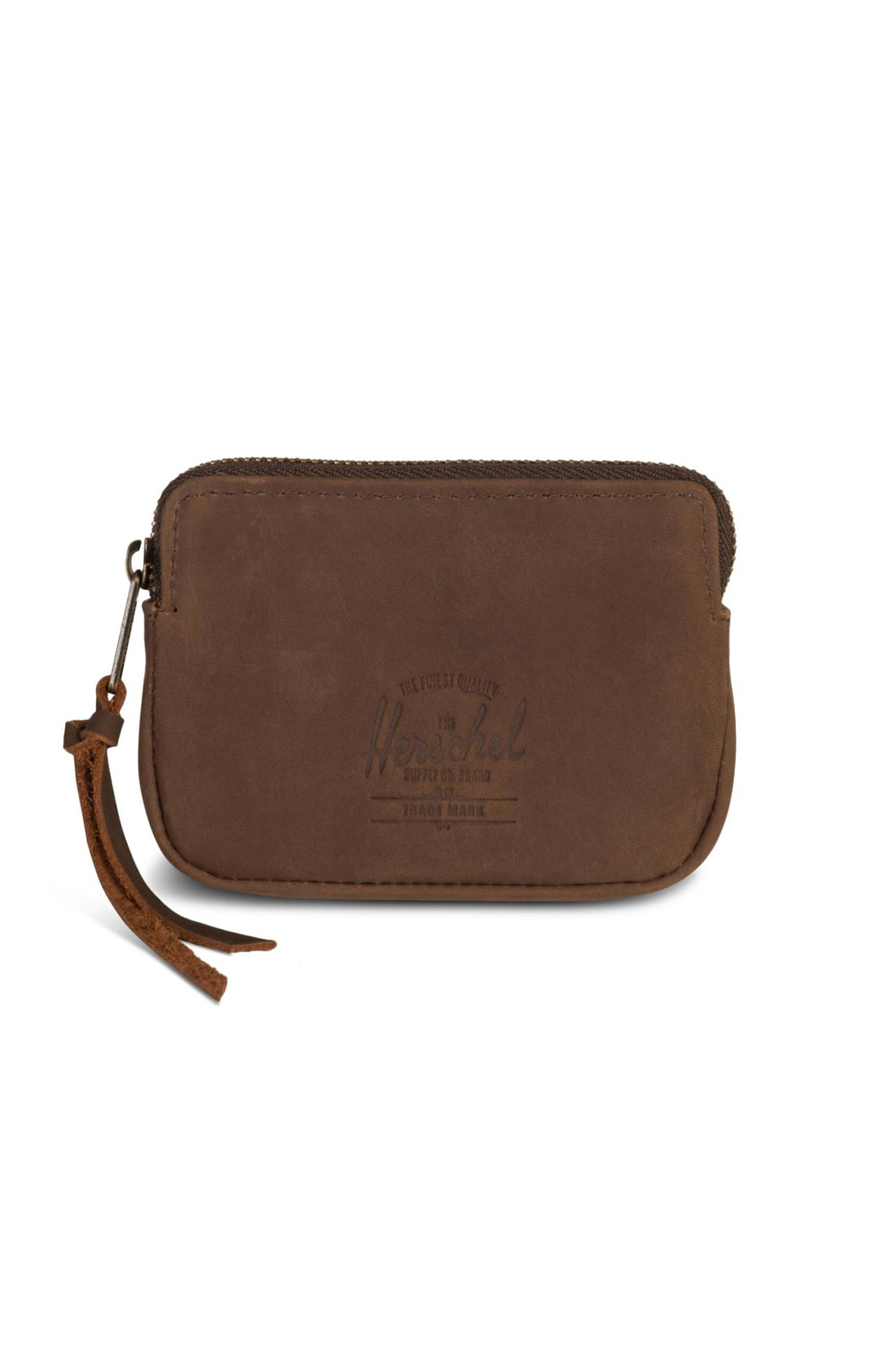 Oxford Wallet - Nubuck Brown Leather