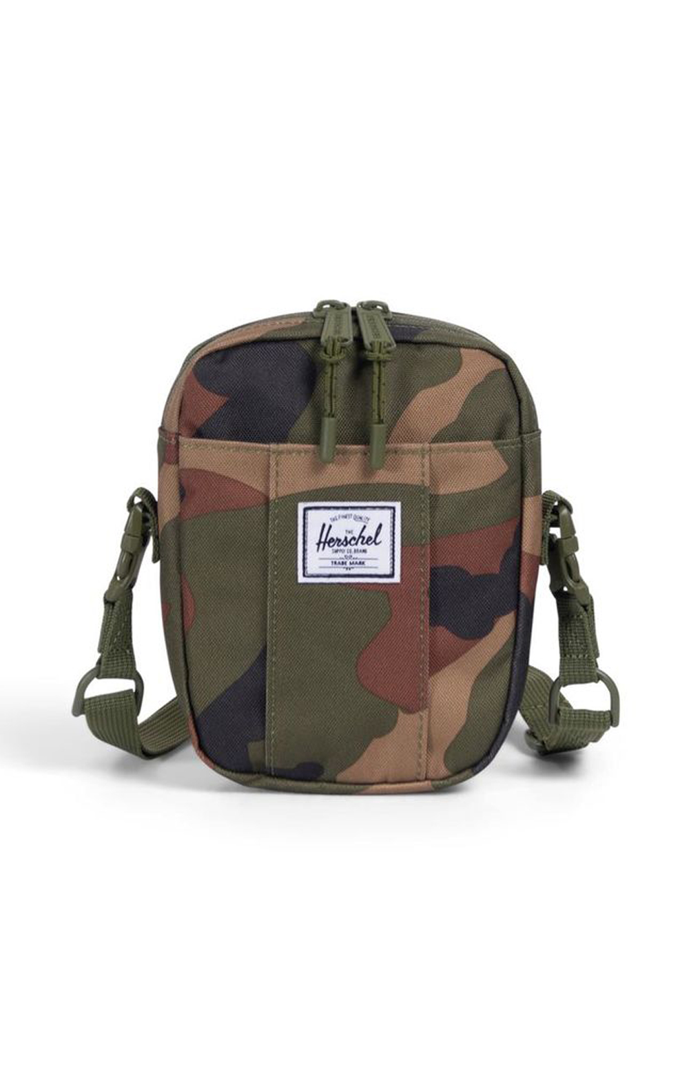 Cruz Crossbody Bag - Woodland Camo