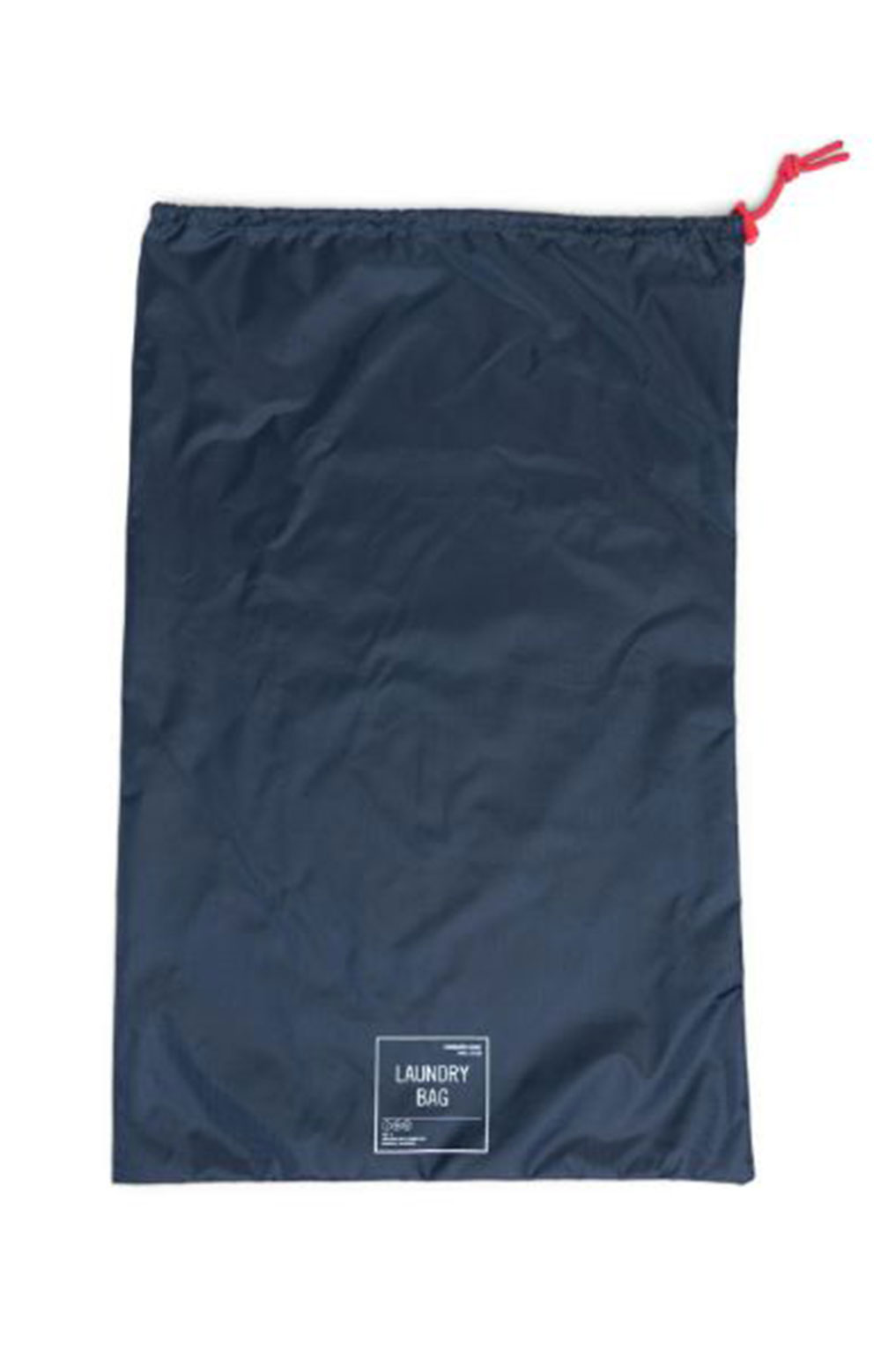 Laundry / Shoe Bag Set - Navy/Red 2