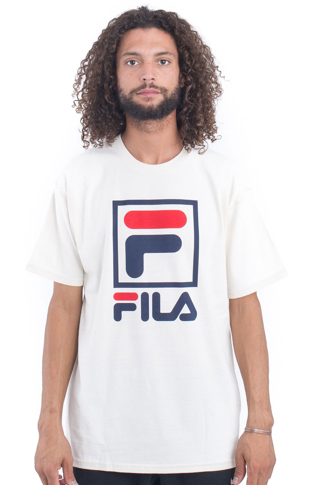 Stacked T-Shirt - Gardenia