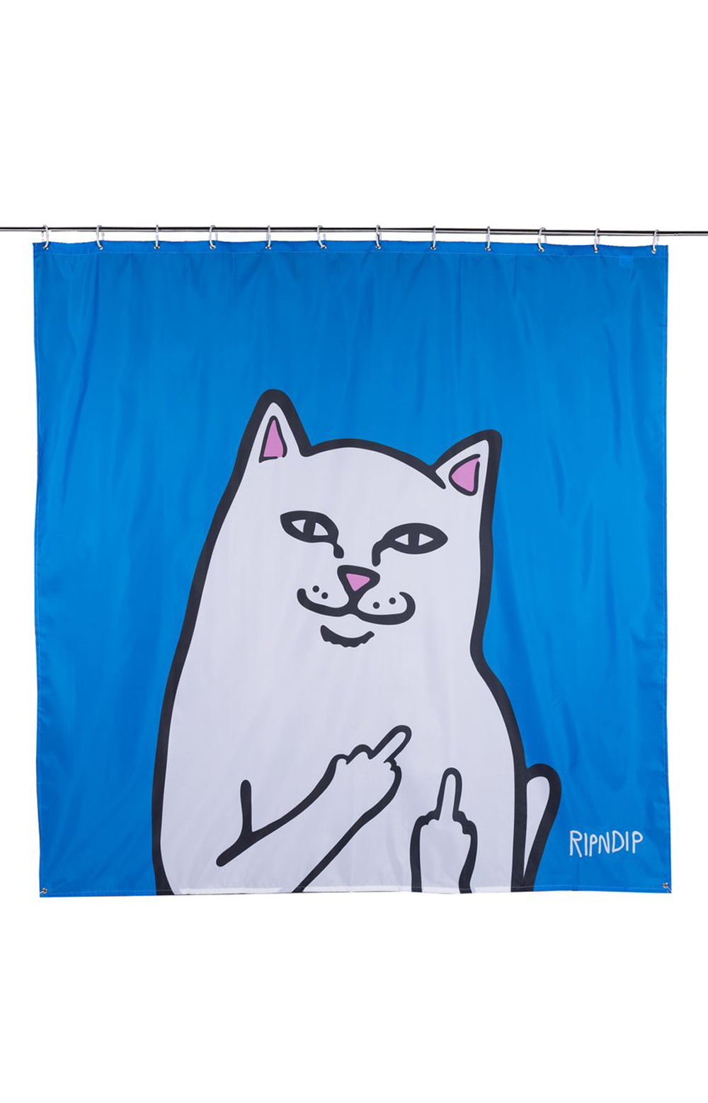 Lord Nermal Shower Curtain - Blue