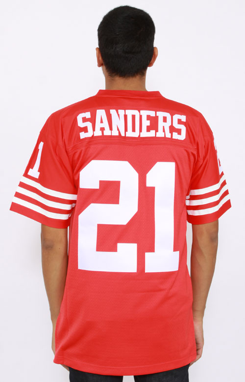sports shoes 5b713 d990a Mitchell & Ness, Sanders 49ers Jersey