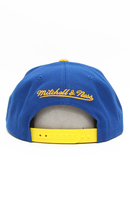 ffe3ca33940dc ... Thumbnail 1 · Lakers Upsidedown Snap-Back Hat - Royal Blue Yellow.  Loading... Home · Brands · Hall of Fame x Mitchell   Ness ...