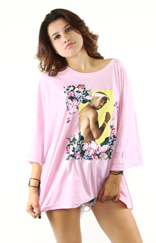 Gangster Chic Oversized Tee