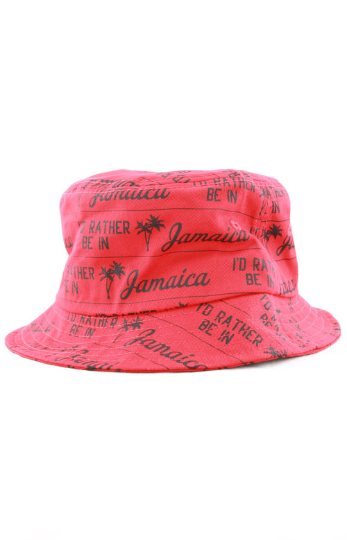 013d1089369 Jamaica Bucket Hat - Red