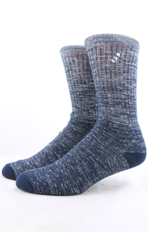 Speckle Socks - Navy