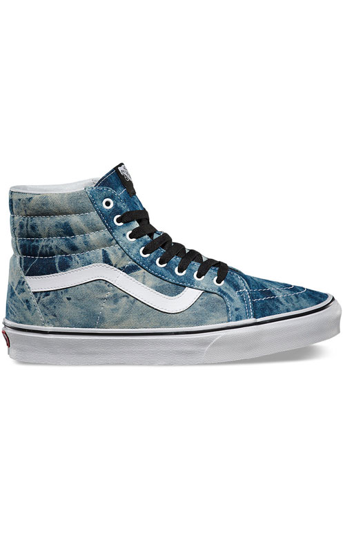 1c50afeb60 Acid Denim Sk8-Hi Reissue Shoe - Black True White
