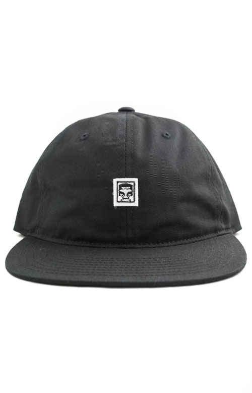 Eighty Nine 5 Panel Hat - Black