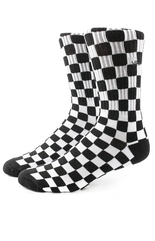 Checkerboard Crew Socks